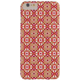 Geometric Moroccan Watercolor Seamless Pattern 1 Barely There iPhone 6 Plus Case