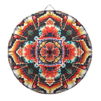 Geometric Motif Dart Boards