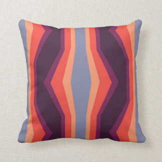 geometric multicolor pattern throw pillows