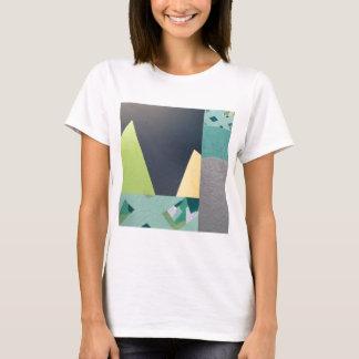 Geometric mural collage T-Shirt