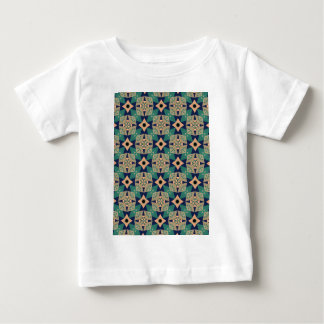 Geometric mural design pattern baby T-Shirt