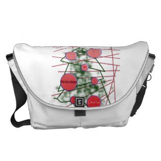 Geometric New Year Messenger Bags
