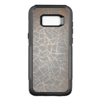 Geometric OtterBox Commuter Samsung Galaxy S8+ Case