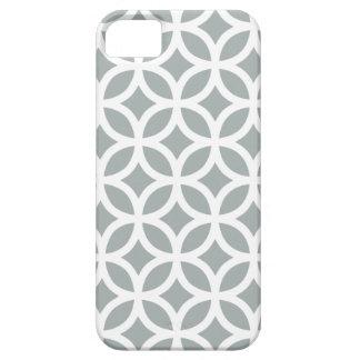 Geometric Paloma Gray iPhone 5/5S Case