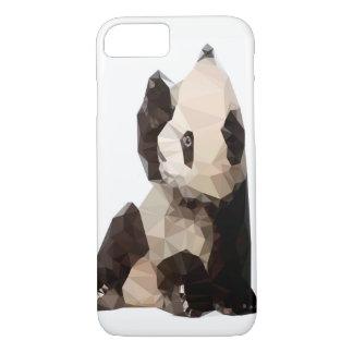 Geometric Panda Bear Phone Case