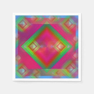 Geometric Paper Napkin