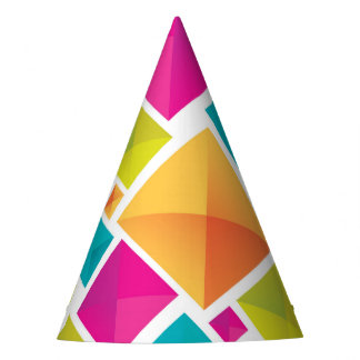 Geometric Party Hat