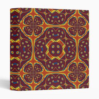 Geometric pattern 3 ring binders