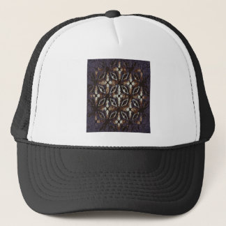 Geometric pattern.Abstract background Trucker Hat