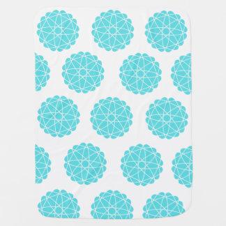 Geometric pattern baby blanket