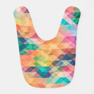 Geometric Pattern Bib