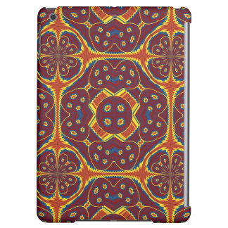 Geometric pattern cover for iPad air