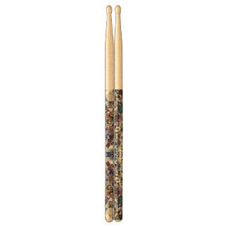 Geometric Pattern Drumsticks