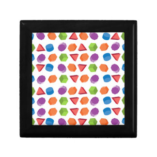 Geometric pattern gift box