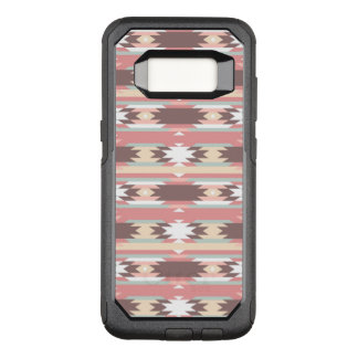 Geometric pattern in aztec style 2 OtterBox commuter samsung galaxy s8 case