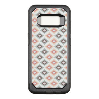 Geometric pattern in aztec style OtterBox commuter samsung galaxy s8 case