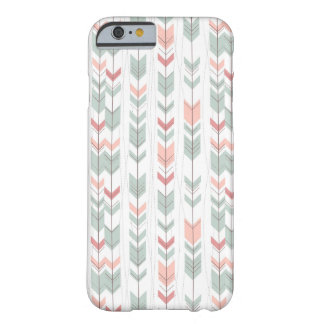 Geometric pattern in retro style barely there iPhone 6 case