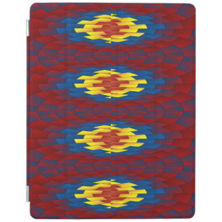 Geometric pattern iPad cover
