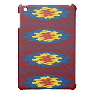 Geometric pattern iPad mini cover