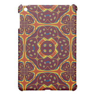 Geometric pattern iPad mini covers