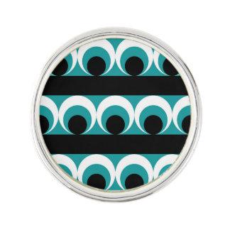 Geometric pattern lapel pin