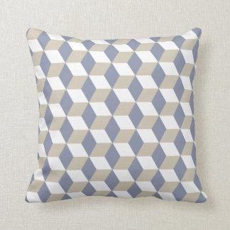 Geometric Pattern Optical Illusion Throw Pillow