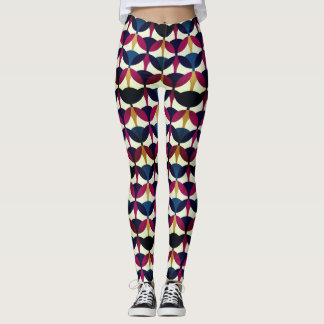Geometric Pattern Recoleta effect Leggings