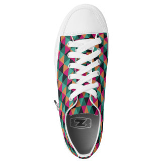 Geometric pattern shoes