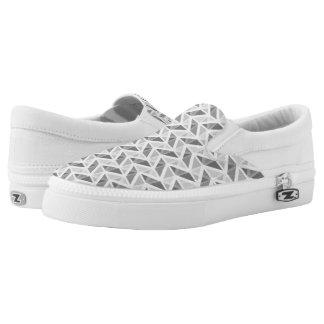 geometric pattern Slip-On sneakers