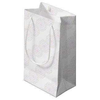 Geometric pattern small gift bag