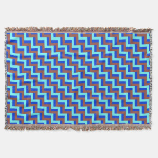 Geometric Pattern Throw Blanket