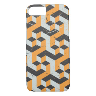 Geometric Pattern Vintage Style iPhone 7 Case