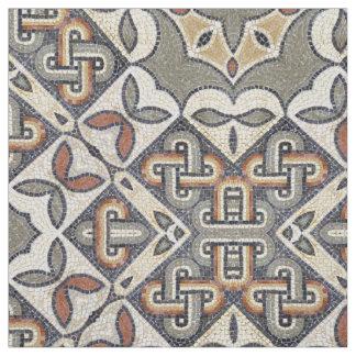Geometric Pattern Warm Grey Gold ID162 Fabric