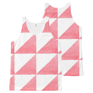 Geometric Patterns All-Over-Print Tank Top