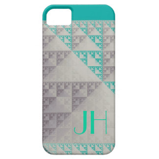 Geometric Patterns & Custom Monogram iPhone 5 Covers