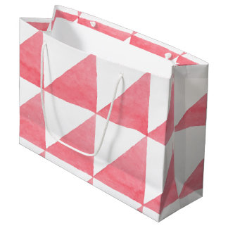 Geometric Patterns Large Gift Bag