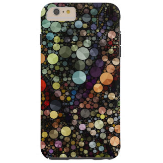 Geometric Patterns | Multicolor Circles Tough iPhone 6 Plus Case
