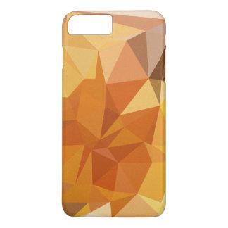 Geometric Patterns | Orange Yellow Triangles iPhone 7 Plus Case