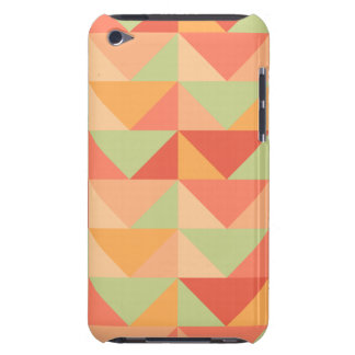 Geometric Peach Teal Modern Colorful Pattern Case-Mate iPod Touch Case