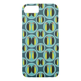 Geometric Penguin Bubbles iPhone 8/7 Case