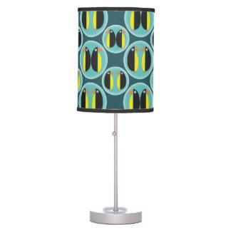 Geometric Penguin Bubbles Table Lamp