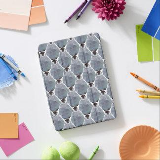 Geometric Penguin Huddle Print iPad Air Cover