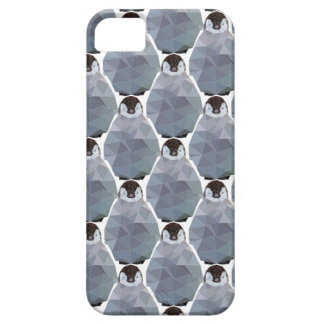 Geometric Penguin Huddle Print iPhone 5 Covers