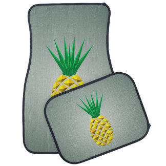 Geometric Pineapple Car Mat