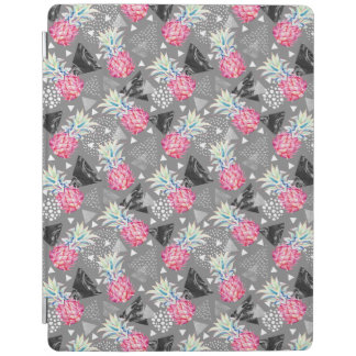 Geometric Pineapple Textured Pattern iPad Cover