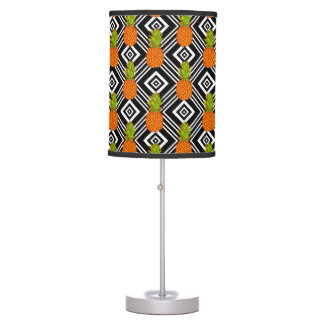 Geometric Pineapples Table Lamps