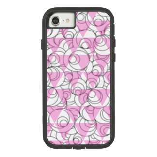 geometric pink and white bubbles Case-Mate tough extreme iPhone 8/7 case