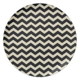 Geometric plate