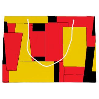 Geometric Pleasure Large Gift Bag