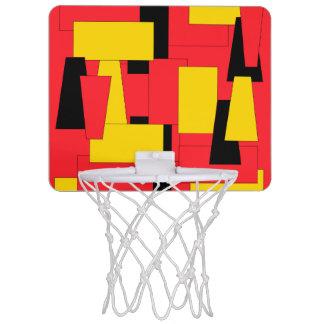 Geometric Pleasure Mini Basketball Hoop